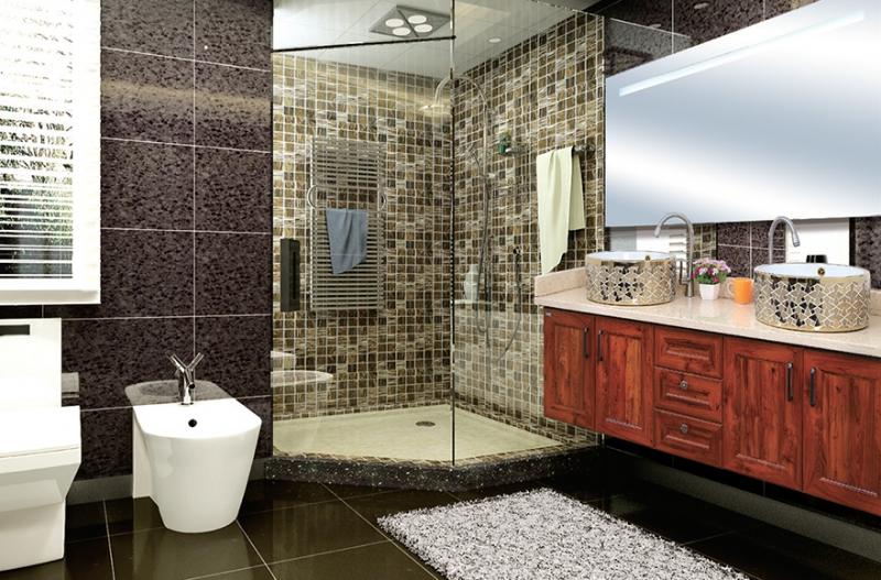 法尼特全铝家居浴室装饰案例
