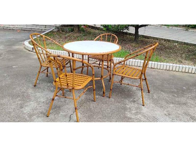 铝艺桌椅02款
