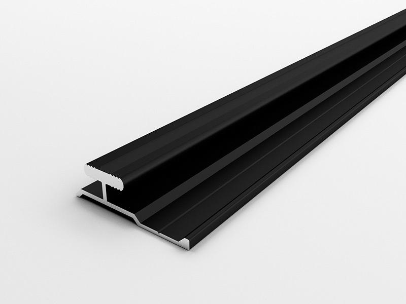 FA-06隐形工字线-拉丝哑黑色